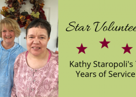 Star Volunteer: Kathy Staropoli's 7 Years of Service